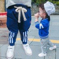 baby boy activewear - Children Trouser Fashion Boys Pants Baby Trousers Autumn Long Trousers Boy Activewear Pants Child Clothes Kids Clothing Lovekiss C27824