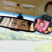 baby seat mirror - Mini Acrylic Suction Clip Installing Baby View Car Rearview Mirror For Child Safety Seat On The Visor And The Windshield