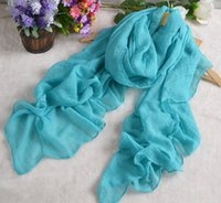 big knit scarf - New Fashion Women Scarves Wrap Shawls Warm Knitted Pure Cotton Fold Super Long Big Shawl Sexy