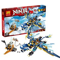 Wholesale Jay s Elemental Dragon Ninjagoed Marvel Ninja Building Block Kits Toys Minifigures Compatible For Boys Gifts Creative gifts