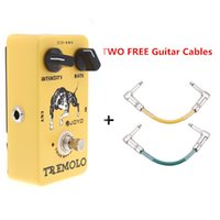 Wholesale Hot Joyo JF Tremolo Effect Pedal Guitar Violao True Bypass for Musical Instrument with Two Free Guitar Effect Cables