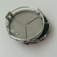 Wholesale 75mm Wheel Center Cover Caps Car Wheel Hub Caps Emblem Badge For Three Pointed Star A B C CLA CLS Styling