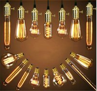 Wholesale Edison bulbs tungsten wire is classic adornment art Retro nostalgia bulb Classic lamps and lanterns and V lamp base