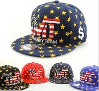Wholesale TMT american style Cap Baseball Caps The Money Team Snap Back Hat For Men Hip Pop Cheap Snapback Hats Snapbacks