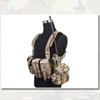 Wholesale LBT A R Chest Rig Combat Gear Tactical Vests EMERSON Airsoft Wearable Combat Camouflage Hunting Gear