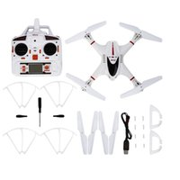 Wholesale 2016 Newest White G Axle Gyro D Roll Quadcopter Drone No Camera for MJX X400 V2