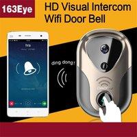 Wholesale 2016 Wireless Wifi Remote Video Camera Phone Intercom Door bell Home Security