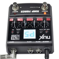 amp modeling - NUX AMP Force Modeling Amplifier Simulator Guitar Pedal Electric Effect Pedal High Quality Models band EQ Color Screen