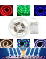 battery diode - Waterproof led strip rgb smd Flexible Lights V Battery powered LED Lighting led tape light Diode Tape tv Mood Light MYY