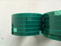 Wholesale 0 T mpet mm silicone tape high temperature tape green silicone High temperature resistant tape spray paint tape