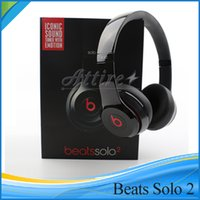 Wholesale Refurbishment Beats Solo Wired Over Ear Headphone Headset with Retail Box