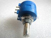 adjustable wirewound resistor - EW HOT S K rotary wirewound precision potentiometers adjustable resistor K turns Potentiometers Cheap Potentiometers Chea