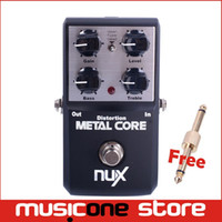 bass eq pedal - NUX Metal Core Distortion Stomp Boxes Electric Guitar Bass Effect Pedal Metal Sound Band EQ True Bypass Musical Instrument