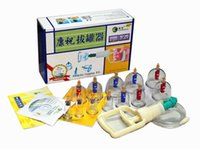 Wholesale Hot BRAND NEW KANGZHU CUPS BIOMAGNETIC CHINESE CUPPING THERAPY SET Acupuncture Set