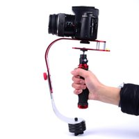 Wholesale 2016 New Arrival Handheld Video Stabilizer Camera Steadicam Stabilizer for Canon Nikon Sony Gopro Hero Phone