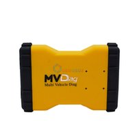 Wholesale Full Chip Board MVD Multi Vehicle Diag MVDiag Free Activate Software V5 R2 OBD2 Car Truck Diagnostic Scanner TCS New VCI