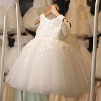 baby clothes military - Baby Girls Lace Tutu Dresses Summer Children Sleeveless for Kids Clothing New Party Lace Cake Vest Sequins Dress