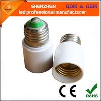 Cheap ABS Extension socket E27 To E27 Best E27 CCC Lamp Holder Base Bulb Socket