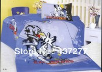 alternative bags - Dancing Mickey Mouse Fabric Baby Cotton Bed in A Bag Alternative Bed Sheets Teens Hip Top Bedding Doona Comforter Sets Twin