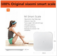 Wholesale Xiaomi mi smart scale Origin Body Weigh Scale Digital scale For Android iOS7 Above White