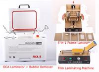 Wholesale New Vacuum LCD OCA Laminating Machine LCD Separator Frame Laminator Automatic OCA Film Laminating Machine Phone Repair Set