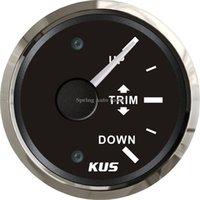 Wholesale quot mm trim gauge trim meter V V UP DOWN KY09028 with backlight