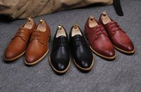 best business shoes - best selling men in British business man han edition dress and recreational leather shoes with fashion wingtip shoes size G223