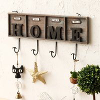 american home store - American decorative retro hook coat hooks clothing store to do the old wooden wall hangings HOME ideas hooks