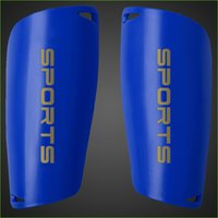Wholesale Six Colors High Quality Professional Children Football Shin Pads Adults Soccer Shinguards