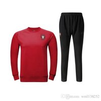 best waterproof pants - DHL Best Quality Portugal training tracksuit Ronaldo Training suit maillot Sweatshirts football Jerseys Pants