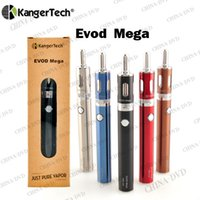 anti thread - Authentic Kangertech Evod Mega Blister ecigarette Kit Kanger Evod Mega mah ml Thread Anti fake Scratch Code