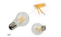 Wholesale A19 LED Vintage Filament Bulb K Warm White W W Equivalent lumen