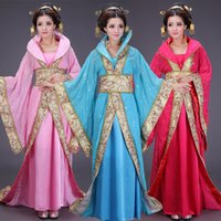 Wholesale Ancient costume hanfu Tang suit women s fairy high ranked imperial concubine studio stage performance clothing