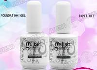Wholesale Honeygirl Gelish Soak Off Gel Polish Soak Off Base Gel Foundation Gel or Top it Off ml oz