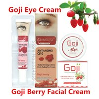 Wholesale Original facial goji cream eye cream Goji berry cream to rejuvenate skin whitening Anti wrinkle Remove dark circles under eyes