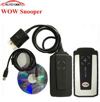 Wholesale 2016 Newest WoW SNOOPER with free activate tcs cdp pro V5 R2 for cars trucks diagnostic tool working tcs cdp as delphi ds150e cdp pro