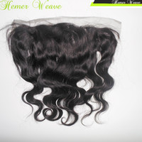 Wholesale Silky Indian Lace Frontal Ear to Ear with Baby Hair Three part Cheap price Virgin Human Body Wave Texture