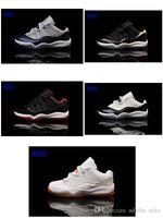 band patchwork - J11S Low kid children boy girls Sneaker fashion basketball Sport Shoes size28