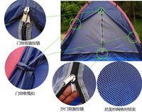 Wholesale Single Layer Outdoor Folding Rain proof Travel Tent two people couple beach Camping Tents and Shelters Outdoor Hiking Backpacking Furniture