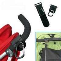 Wholesale Universal Stroller Pram Pushchair Clip Hooks Shopping Bag Hook Stroller Holder S L00004 FSH