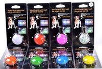 Wholesale New Night Safety Led Spotlit Clip On pet tags LED Light with Carabiner Weather Resistant led pendant lights