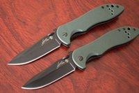оптовых указывающего рукой-Kershaw CQC-5K Модифицированный клип-нож клинка Kershaw 6074OLBLK хлебные ножи ручной инструмент охота тактический нож кемпинга бесплатная доставка
