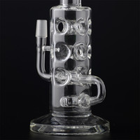 shower base - 50x5mm Heavy Bong Glass Water Pipe Holes Bottom Shower Head Prc Thick Base and Mouth Piece With Dome Nail BestGlass S10