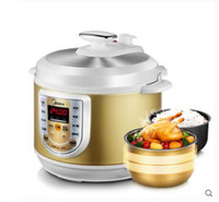 Wholesale Electric Pressure Cookers Double bile quality goods on sale of household intelligent high pressure rice cooker The smart pane