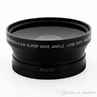 Wholesale 67mm x Wide Angle Lens with Macro for Cannon Nikon Sony Olympus SLR DSLR cameras