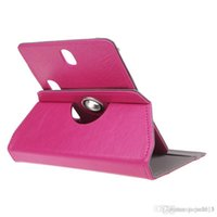 Wholesale 360 Degree Rotate Universal Tablet PU Leather cover case For quot Megafon case for tablet HOT