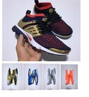best mens shoe brands - 1 best quality sneaker brand presto ultra boost air flykint breather mens women run shoes medium top sneakers size who