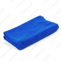 Wholesale 20pcs High quality Large x160CM Blue Microfiber Towel Car Auto Wash Cleaning Polish Cloth long life time