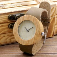 best gift items men - New Watch Men Brand Wooden Watch with Genuine Leather Band Luxury Watches Wood Wristwatch for Men as Best Gifts Items lt no tracking