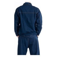 Wholesale Jeans Cotton Work Uniform Clothes Suit Welding Vehicle Repair Five Size Blue Color Best Selling Delicate Craft Super Fabric Durable